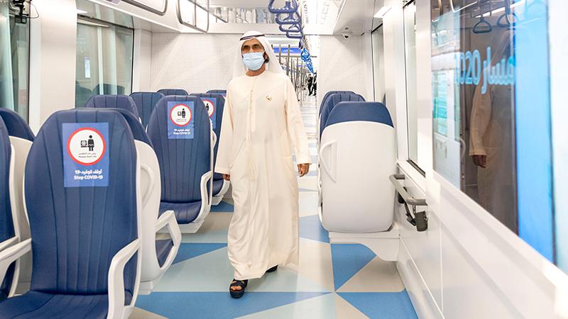 New Dubai metro trains