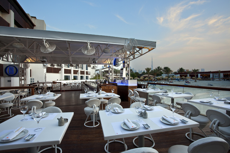 sho cho dubai outdoor terrace