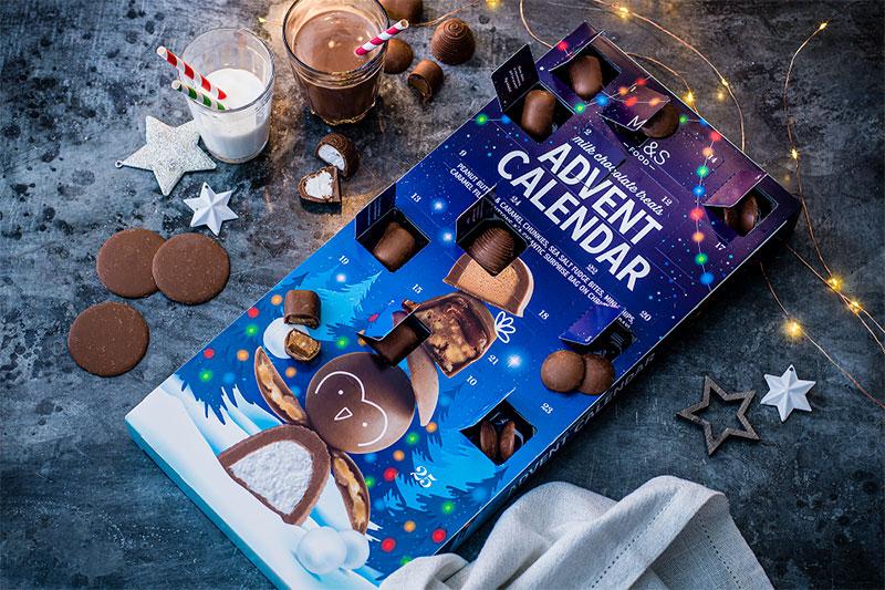M&S Advent calendar