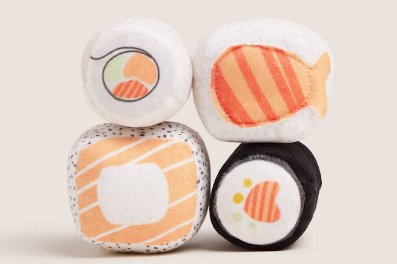 Marks & Spencer pet Christmas gifts sushi