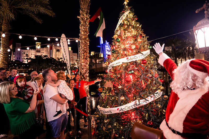 McGettigans souk madinat christmas tree