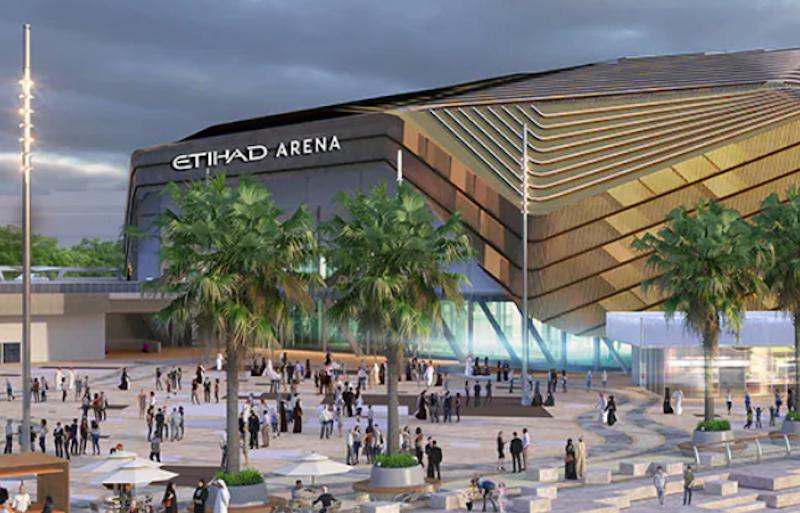 Etihad Arena Abu Dhabi events UFC