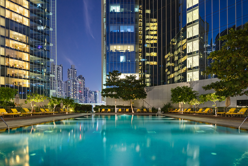The Oberoi, Dubai - Pool with city view