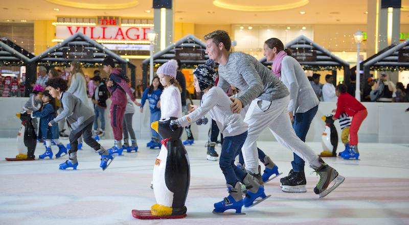 dubai ice rink festive season