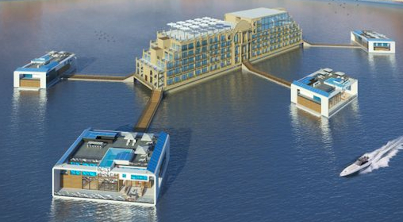 floating hotel dubai