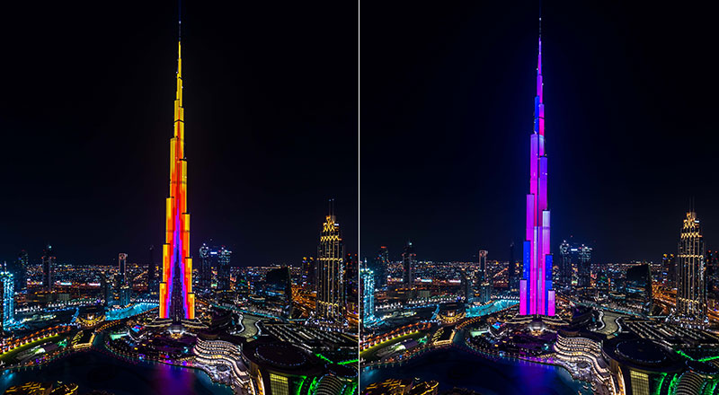 burj khalifa open call art