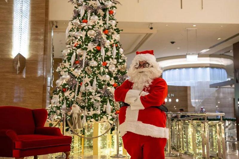 kempinski mall of the emirates christmas