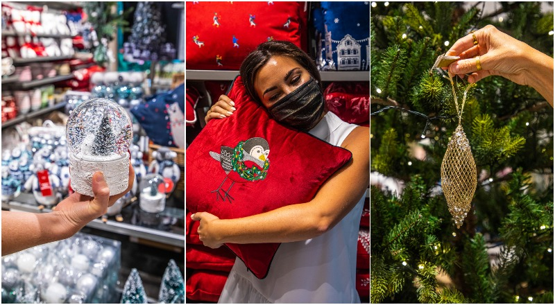 marks & spencer christmas decorations