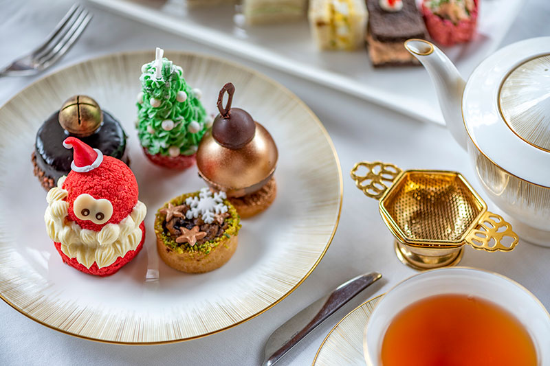 ritz carlton jbr festive afternoon tea