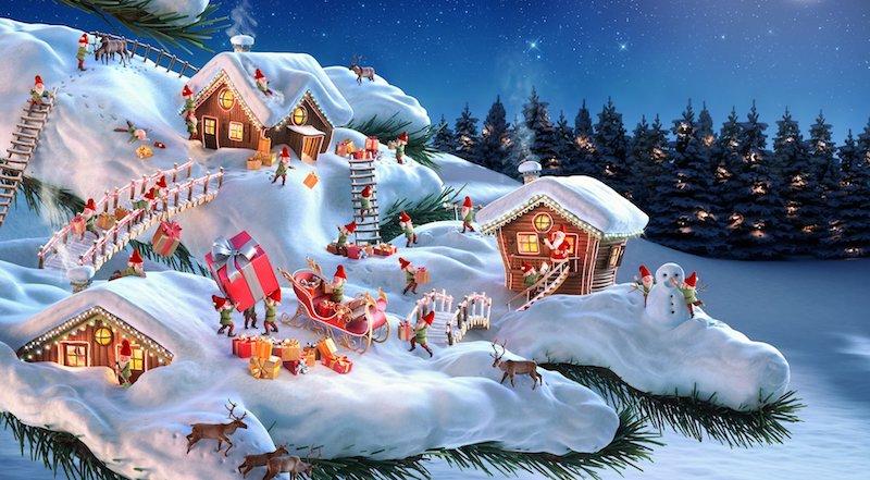 secret christmas popup dubai