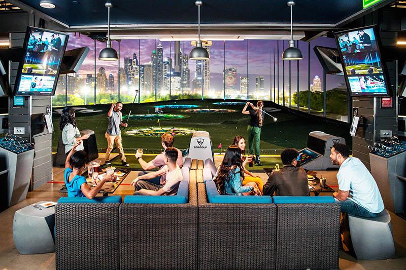 Topgolf Dubai opening in December