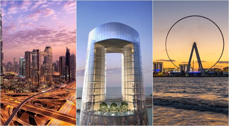 world record breaking attractions dubai