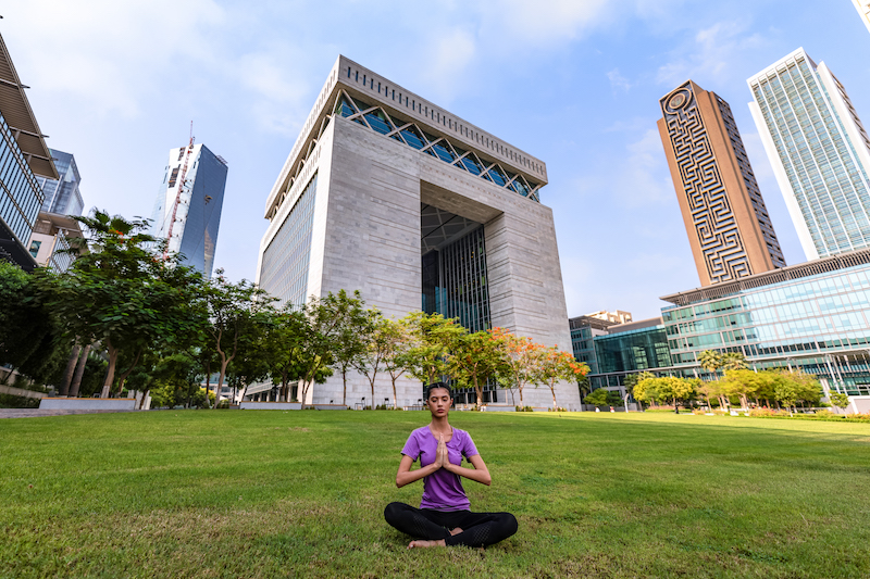 yoga classes in Dubai The Gate building (1)
