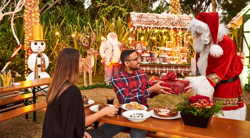 Christmas market Dubai