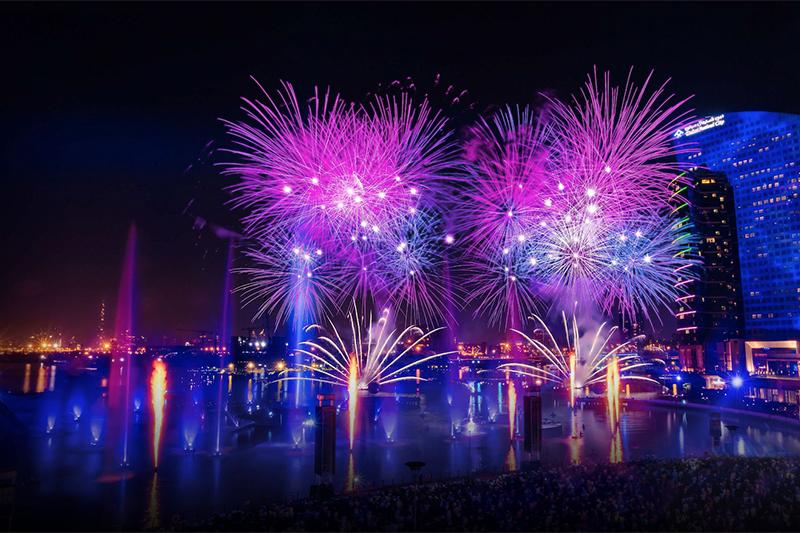 Fireworks New Year's Eve Dubai 2020