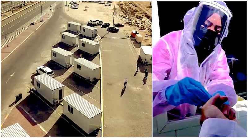 DPI Test Abu Dhabi border ghantoot al faya