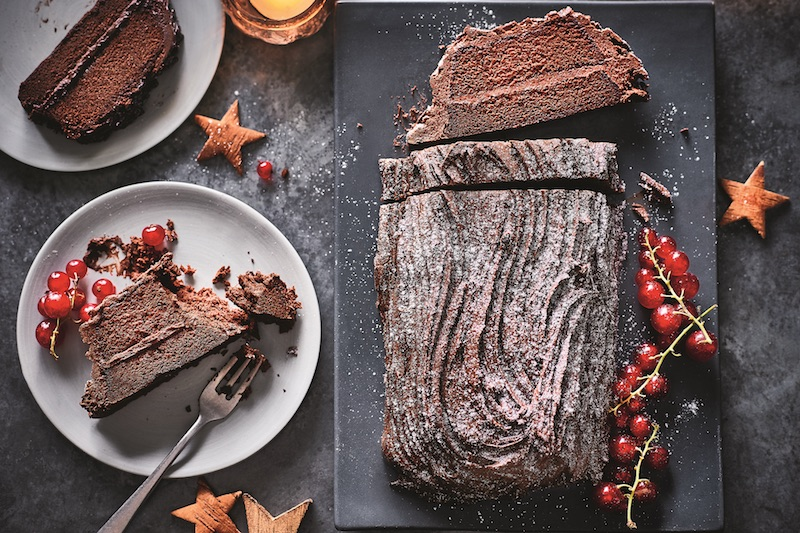 M&S - Made Without Wheat Chocolate Yule Log - AED 95 _ 2