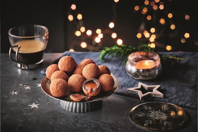 M&S CHRISTMAS vegan truffles