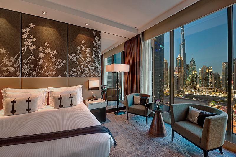 Pullman Downtown dubai burj khalifa views