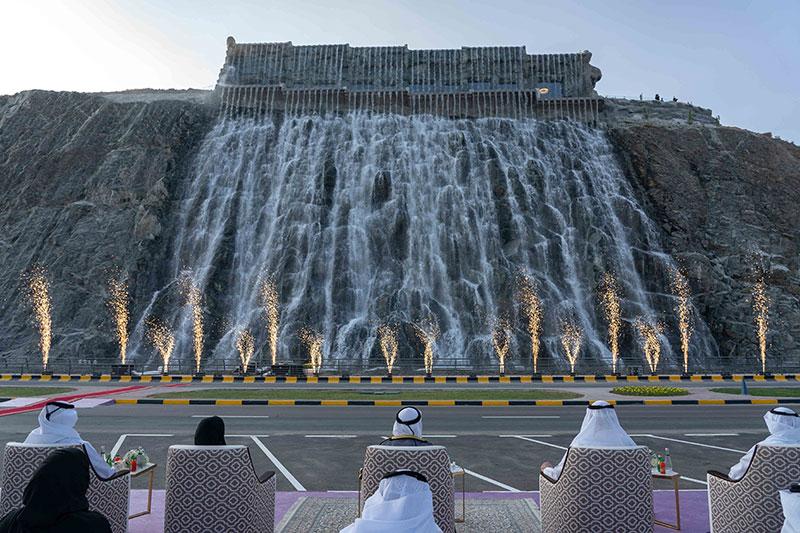 The Waterfall Khorfakkan