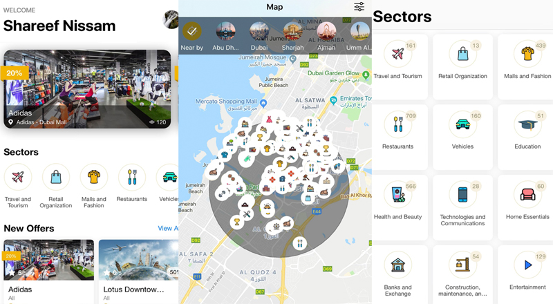 alsaada new app dubai tourists