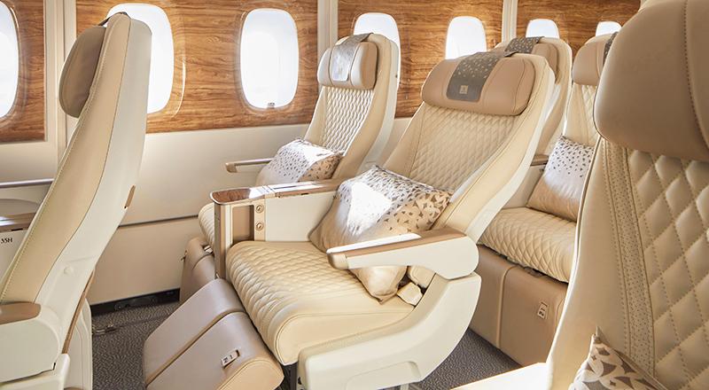 Premium economy emirates A380