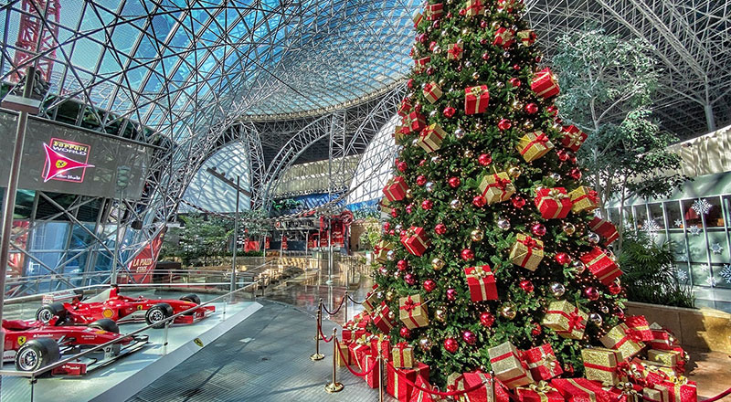 ferrari world christmas