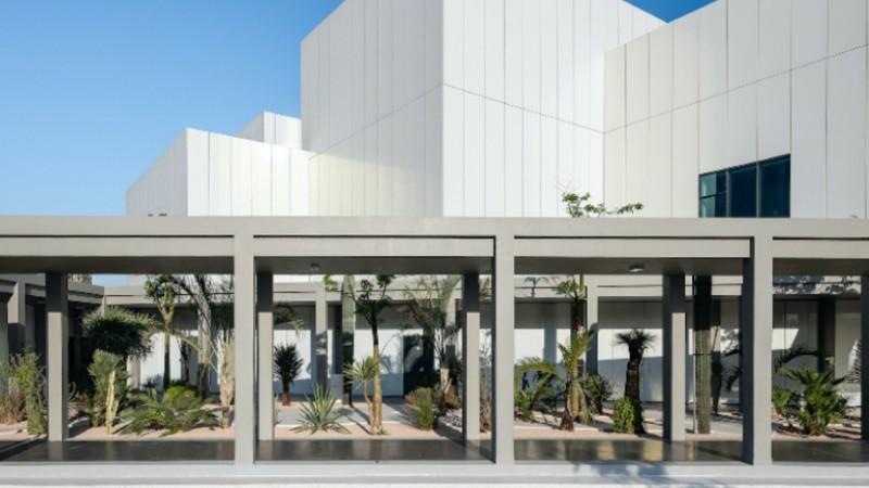 jameel art centre garden