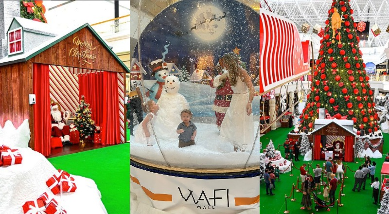santas grotto wafi mall