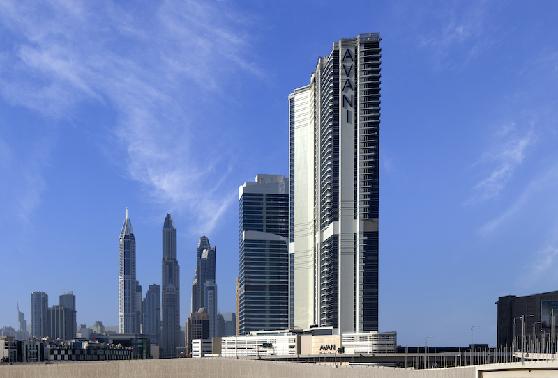Avani Palm View Dubai Exterior Shot