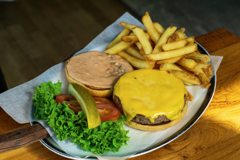 Black-Tap impossible burger
