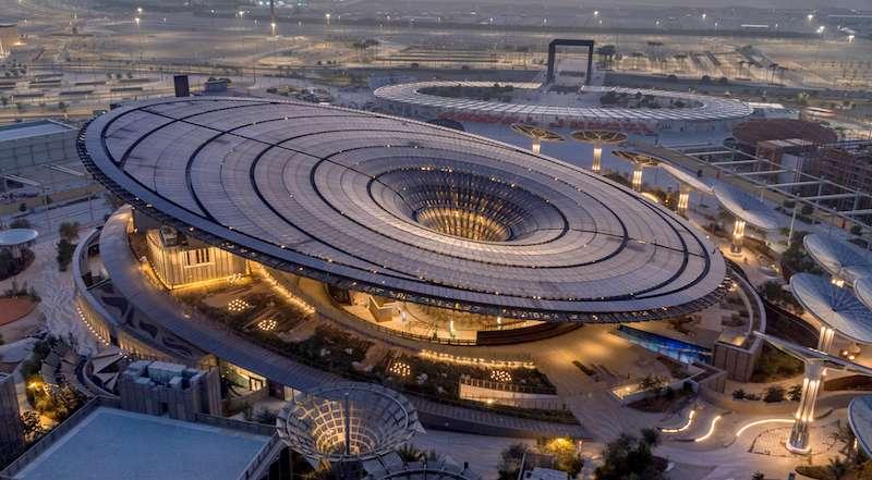 Expo 2020_Sustainability Pavilion_drone shot