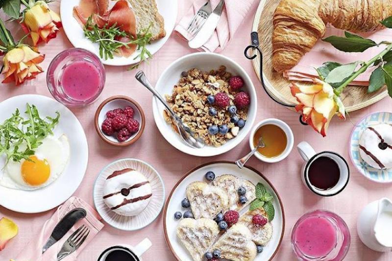 Larte Lady Mimosa breakfast