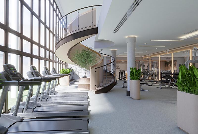 New fitness gyms Dubai