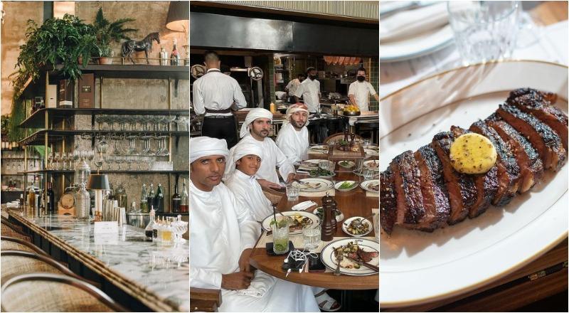 Sheikh Hamdan Dubai restaurants