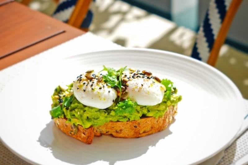 alba terrace breakfast