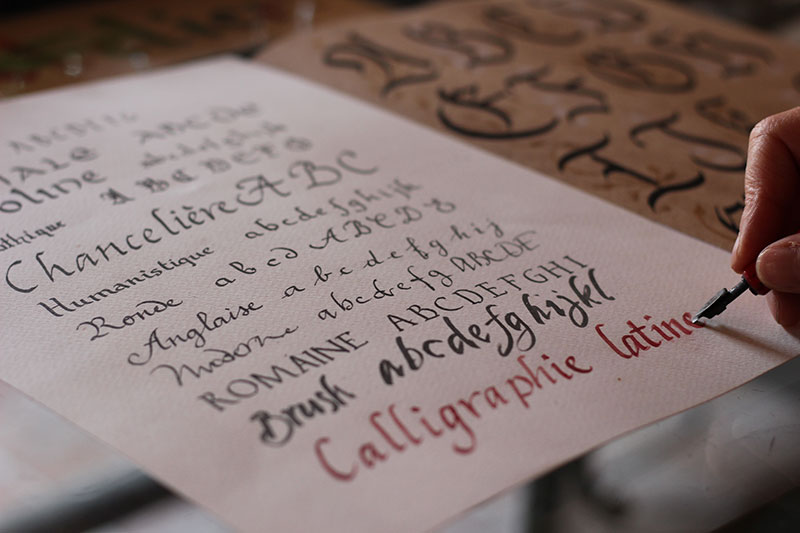 calligraphy AF Abu Dhabi