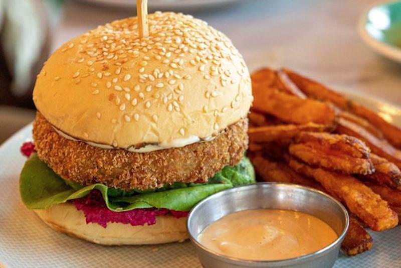 common grounds vegan burger