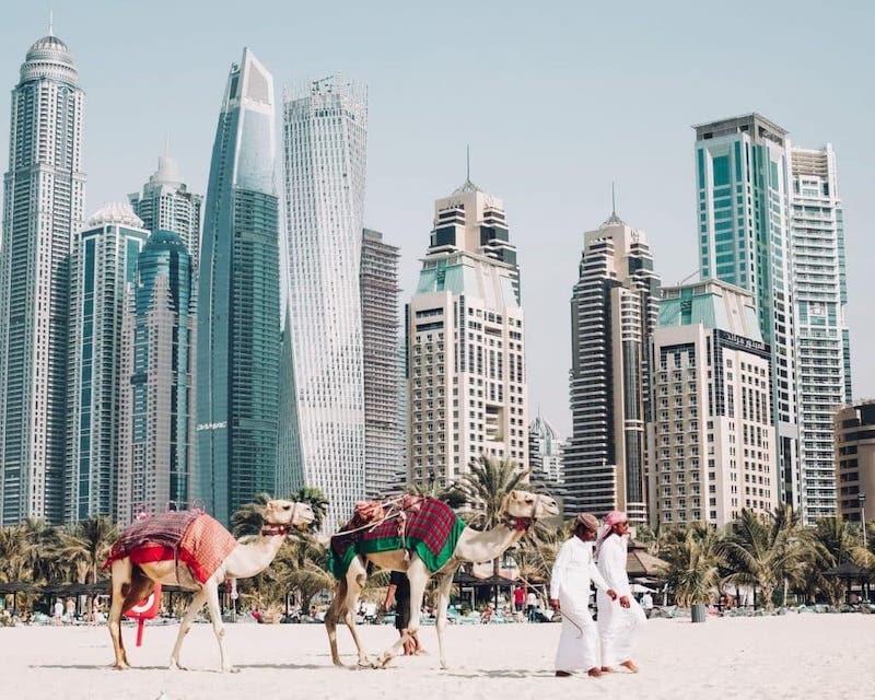 Dubai Instagrammable cities