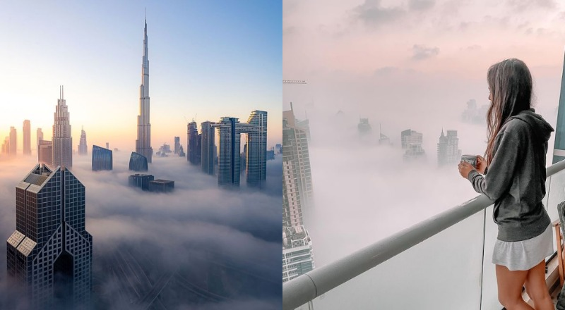 fog warning UAE