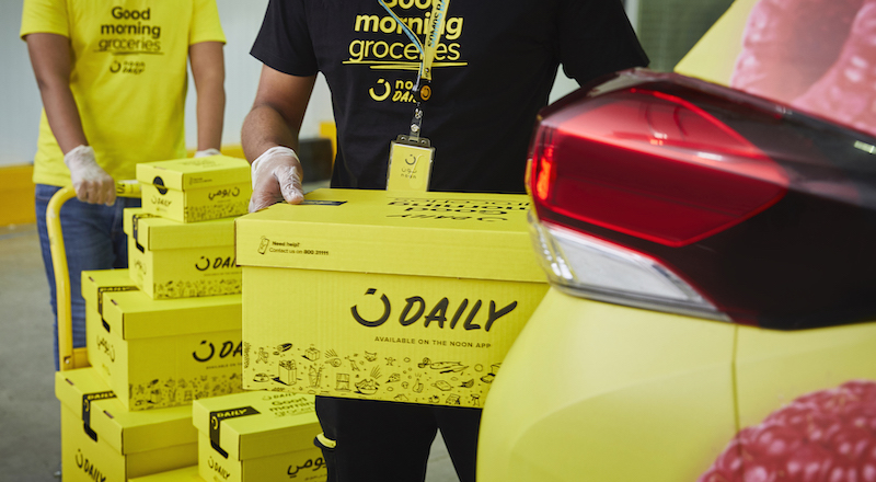 noon Daily deliveries