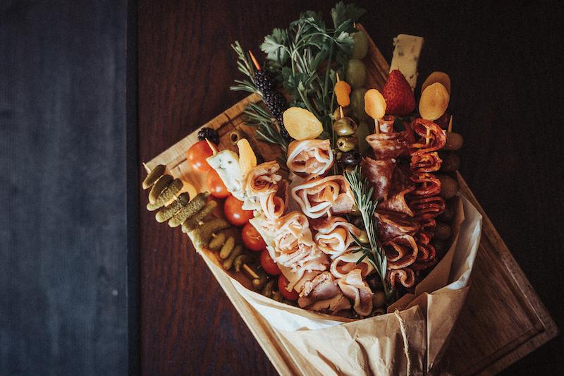 reform's edible bouquet