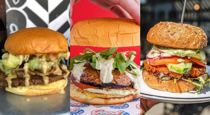 vegetarian burger dubai