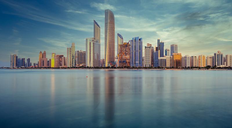Abu Dhabi Skyline 123 Feat