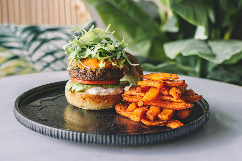 Sanderson's Sustainable City Back to Basics Beef Burger