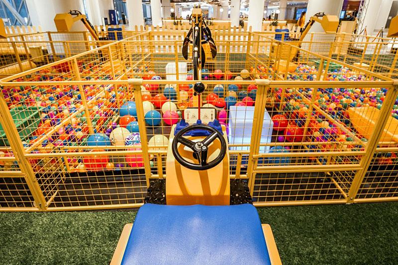 Galleria kids play area