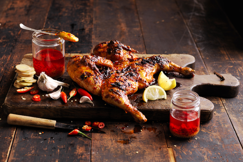 Oporto_Whole Chicken with Original Chilli Basting
