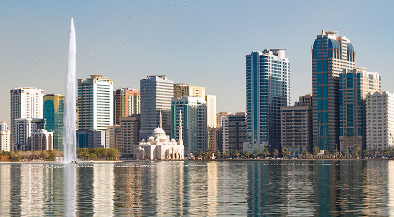 Sharjah skyline