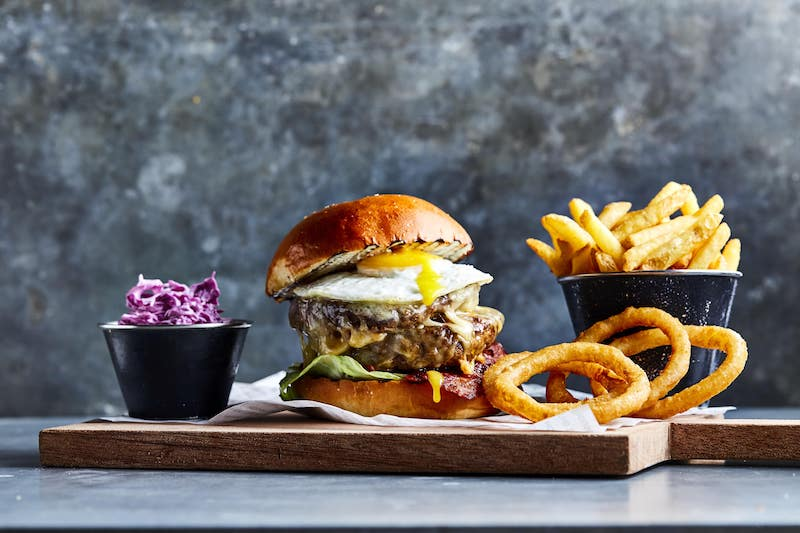 The Tap House - Classic Wagyu burger