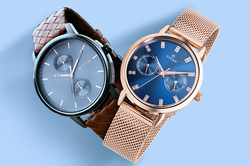 Titan watch collection